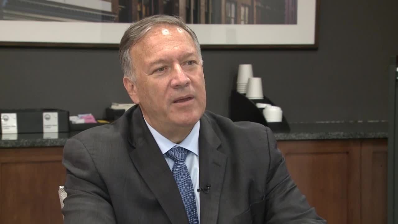 Download Full interview with former Secretary of State Mike Pompeo