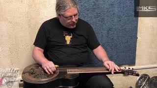 Delta Guitars Resonator - Delta Custom Square Neck