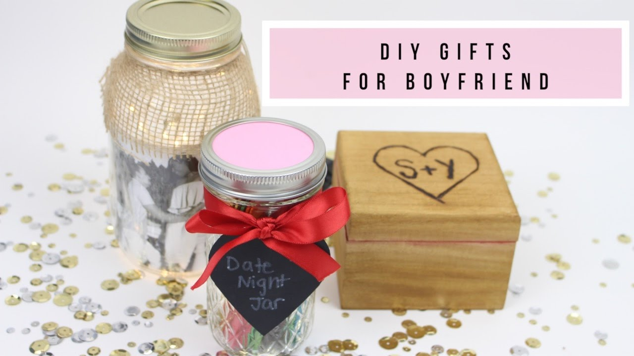 3 Diy Gifts For Boyfriend Husband Youtube