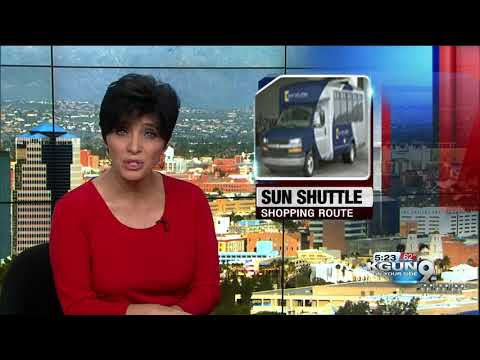 Get to the Tucson Premium Outlets on the Sun Shuttle