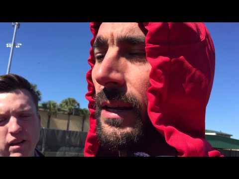 St. Louis Cardinals Matt Carpenter and Michael Wacha talk 2015