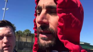 St. Louis Cardinals Matt Carpenter and Michael Wacha talk 2015