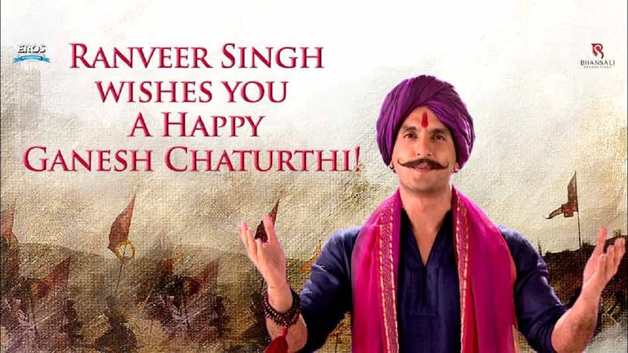 Ranveer singh wishes you a happy ganesh chaturthi youtube