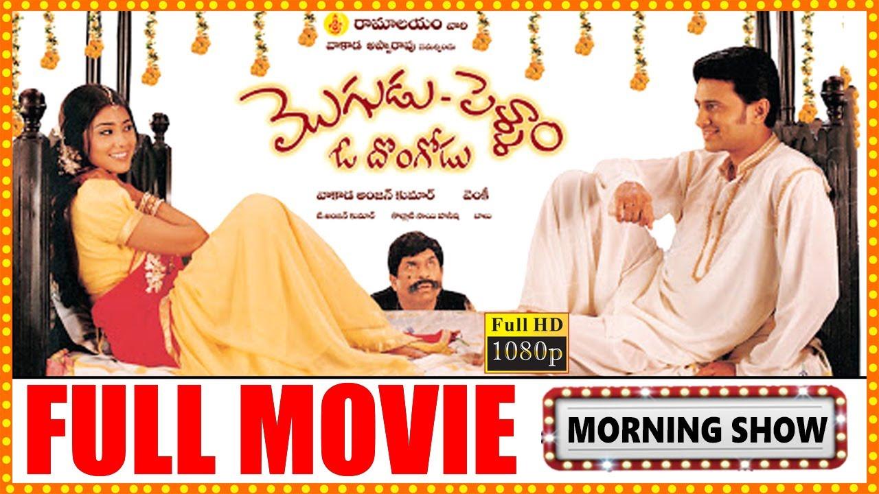 Download Mogudu Pellam O Dongodu Telugu Full Length HD Movie    Raja    Shriya    Telugu Full Screen