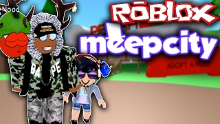"ROBLOX - ADOPTING A CHILD!! ""MEEPCITY"""