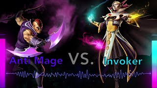 DOTA 2 Rap Battle! Invoker vs Anti-Mage
