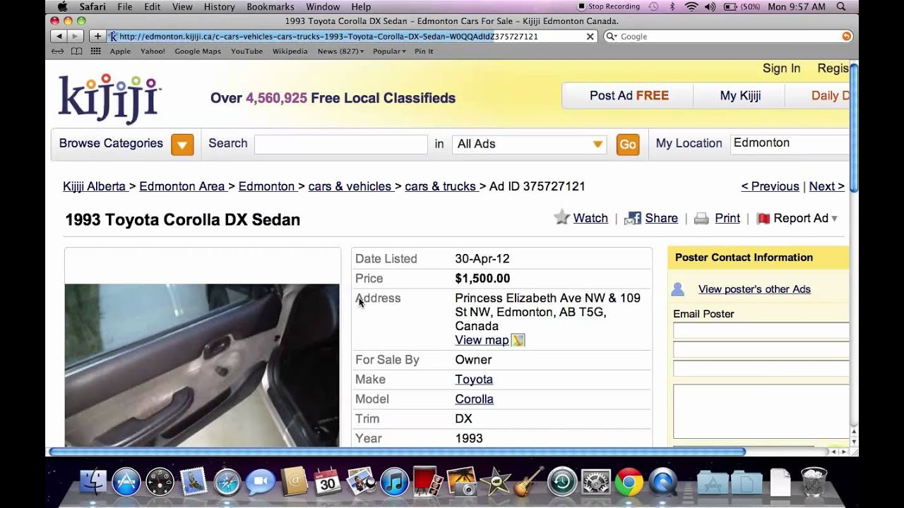 Kijiji Edmonton Used Cars And Trucks Under 1000