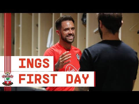 FIRST DAY | Behind the scenes with Southampton\'s Danny Ings