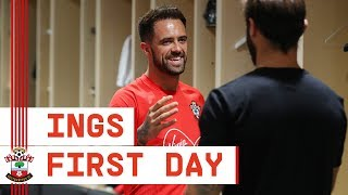 FIRST DAY | Behind the scenes with Southampton's Danny Ings