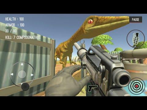 Dinosaur Hunter Dino City 2017 Android Gameplay #12