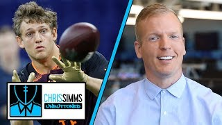 2019 NFL Draft countdown: What Bills should do at No. 9 | Chris Simms Unbuttoned | NBC Sports