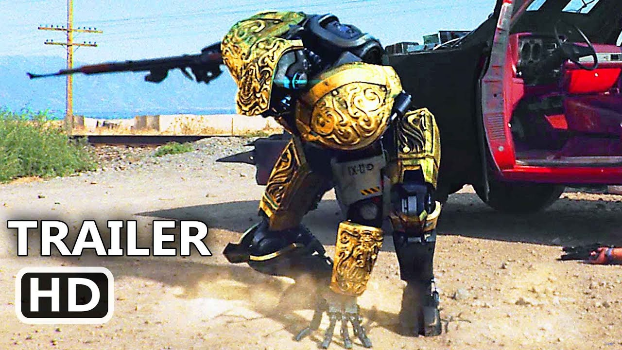 CARTEL 2045 Official Trailer (2018) Danny Trejo, Sci-Fi Robot Movie HD