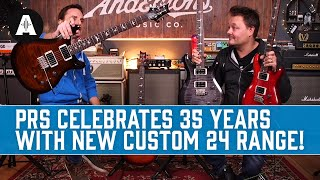 PRS Give The Custom 24 A Serious Upgrade! - NEW 35th Anniversary S2 Guitar Range!