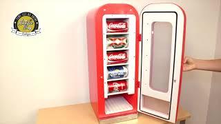 레트로 가정용 미니자판기 코카콜라 냉장고 차량용 업소용…