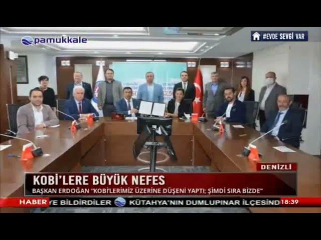 Pamukkkale TV-KOBİ'lere büyük nefes 29.04.2020