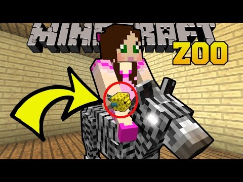 Thumbnail: Minecraft: CREATE YOUR OWN ZOO!! (SO MANY NEW ANIMALS!) Mod Showcase