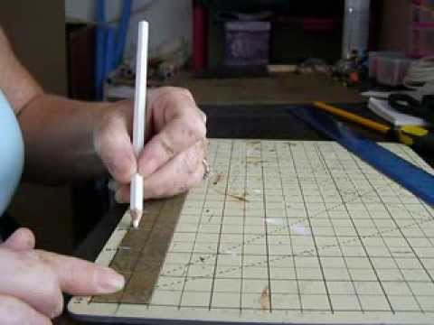 Doll House Roof Tiles From Sandpaper Youtube