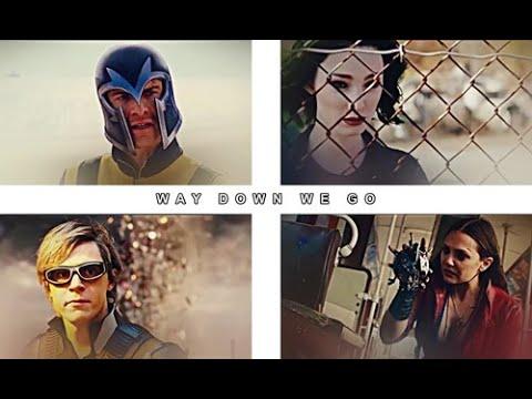 Magneto & His Children || Way Down We Go