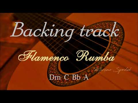 FLAMENCO RUMBA Dm BACKING TRACK
