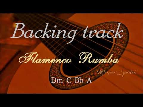 FLAMENCO RUMBA Dm BACKING TRACK