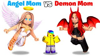 Roblox ANGEL Mom vs DEMON Mom.. 😇😈