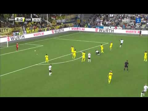 Odds BK vs Borussia Dortmund 1st half Europa League qualifier HQ