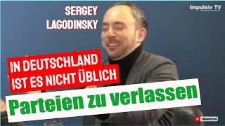 """Sergey Lagodinsky: """"In Deutschland ist es nicht üblich Parteien zu verlassen"""""""