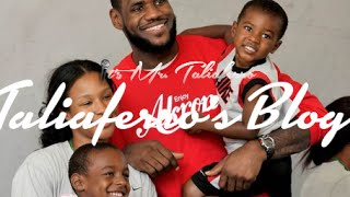 Believe this! lebron james son bronny is actually looking better than lebron at this age!