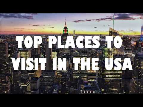 THE CRAZIEST & MOST BEAUTIFUL TOP PLACES YOU MUST VISIT IN THE USA أماكن جميلة للزيارة في أمريكا