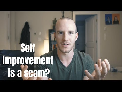 """Why you should stop """"improving"""" yourself"""
