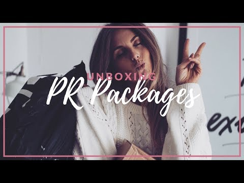WHAT I'VE BEEN SENT | UNBOXING BLOGGER MAIL & PR PACKAGES | SINEAD CROWE
