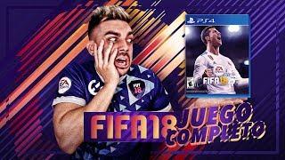 PRIMER DIRECTO DE FIFA 18 !!! (JUEGO COMPLETO)