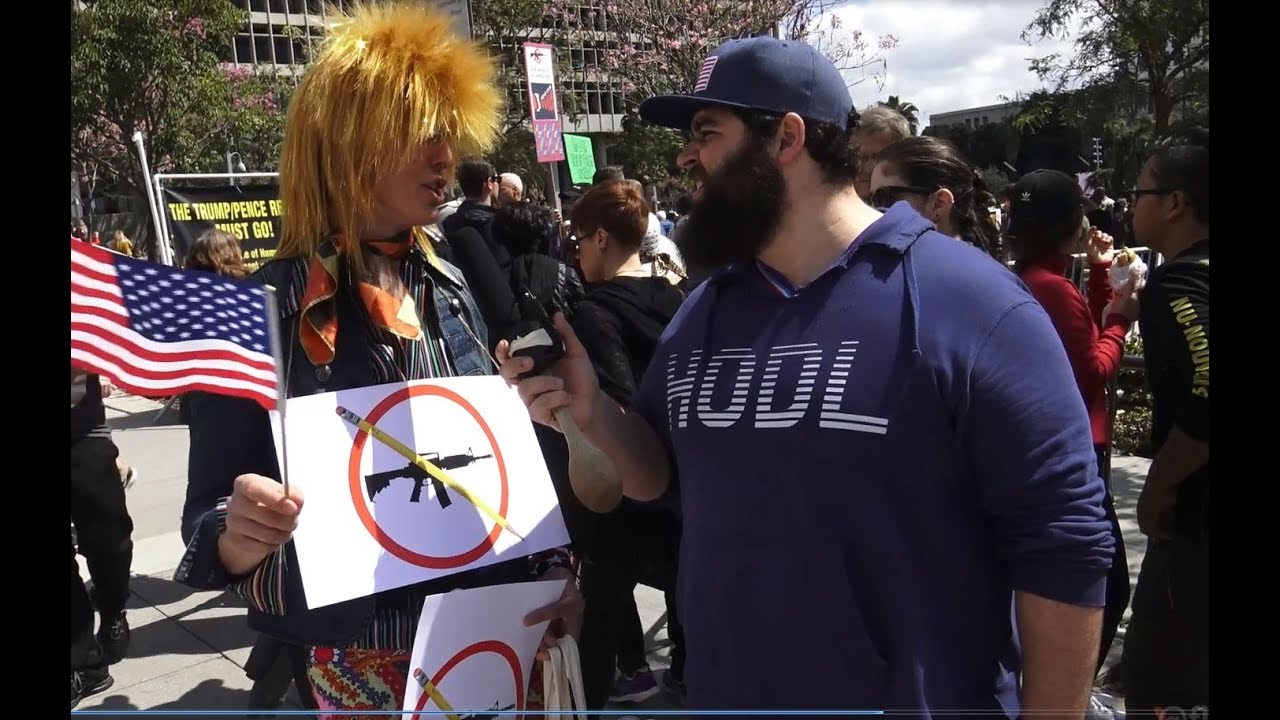 Protesters Don't Understand Gun Control at March For Our Lives | FLECCAS TALKS