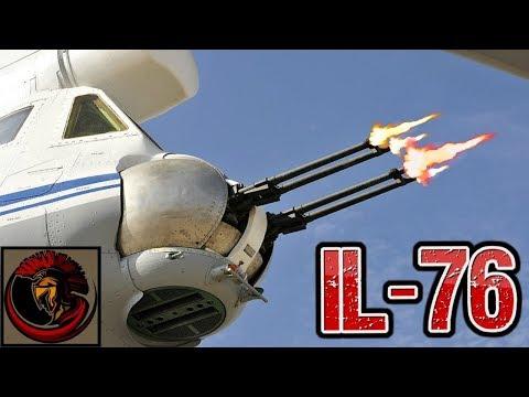 Russian IL-76 Military Cargo Aircraft - HEAVY DUTY LIFTING!