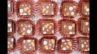 اصنعي الشوكولاتة المطبوعة