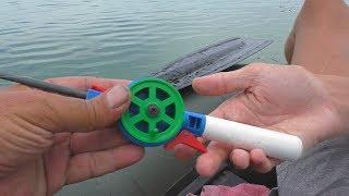 Рыбалка Ловля карася на ЗИМНЮЮ УДОЧКУ (летом). My fishing