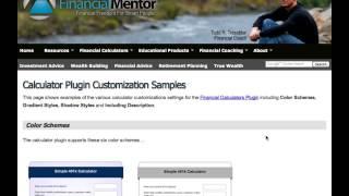 Financial Calculator Plugin-How To Use screenshot 3