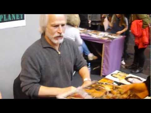 Michael Beck The Warriors are the best signing autographs at Birmingham Memorabilia