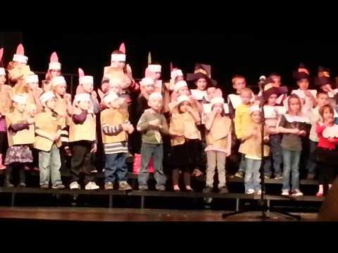 Payson Elementary School Thanksgiving Program