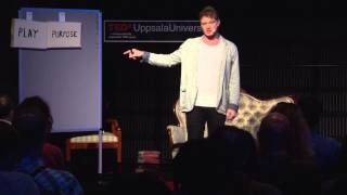 Happiness for lazy people: Sven Heijbel at TEDxUppsalaUniversity