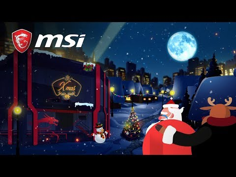 Merry Christmas & Happy New Gear | MSI