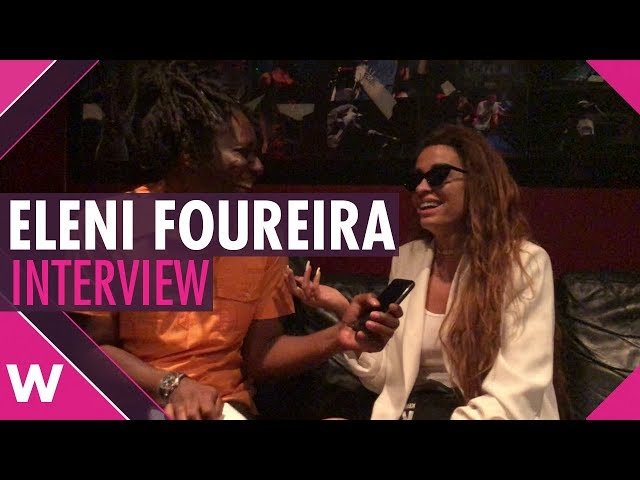 Eleni Foureira (Cyprus 2018) Interview @ KOKO London | wiwibloggs