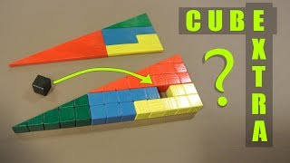 Triangle hole trick: made 3D from cubes and explained