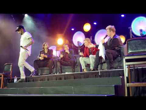 Backstreet Boys Cruise 2018 Inconsolable & If I Knew Then Group B