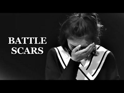 kpop idols✘battle scars