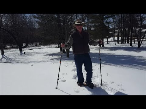 Yukon Charlie's 825 Snowshoes Field Test