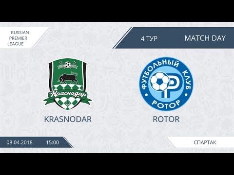 AFL18. Russia. Premier League. Day 4. Krasnodar - Rotor