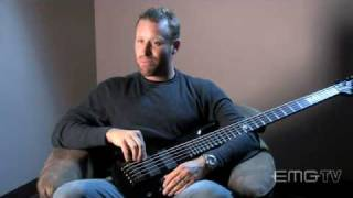 Mike Kroeger, Nickelback, talks backstage about bass with EMGtv