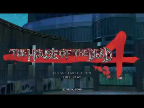 The House Of The Dead 4 2005 Sega Arcade Pc Youtube