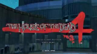 The House of the Dead 4 (2005) Sega Arcade PC